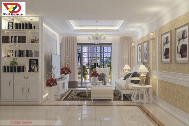 Công ty thiết kế thi công nội thất căn hộ chung cư tại tphcm