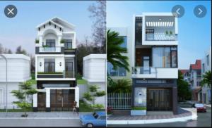 Những Mẫu Nhà Phố Đẹp 2021 - Thiết Kế Nhà Phố Đẹp