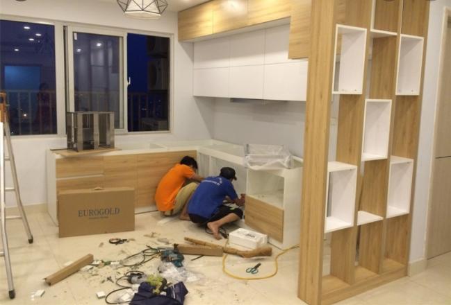 Thi công đồ gỗ nội thất tại tphcm