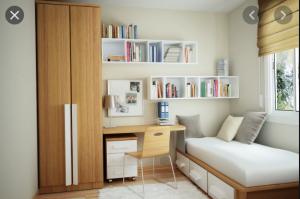 Mách bạn: Thiết kế phòng ngủ nhỏ từ 4m2–9m2 Siêu Đẹp & Siêu Độc