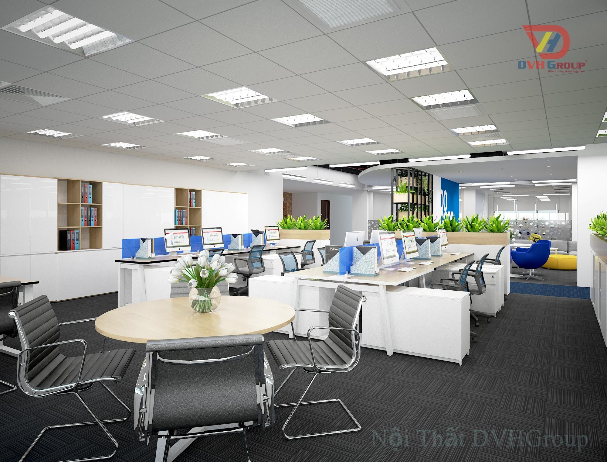 Thiết kế nội thất văn phòng tại TP Hồ Chí Minh
