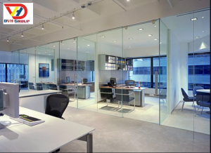 Văn phòng Tông màu mát mẽ - Diện tích 300m2