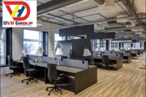 Không gian nội thất đẹp tạo cho không gian làm việc năng động hơn