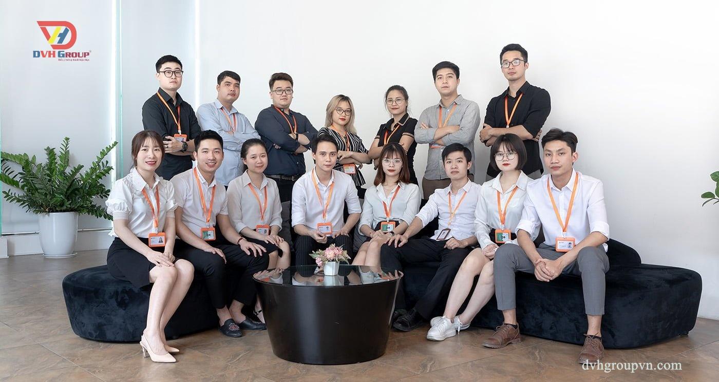 Đội Ngũ Nhân Viên Thiết Kế Của Nội Thất DVHGroup