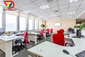 Nội thất văn phòng tại quận 7 - thiết kế văn phòng giá rẻ
