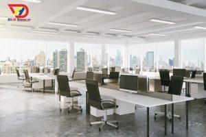 Nội thất văn phòng tại quận bình thạnh - Thiết kế văn phòng giá rẻ