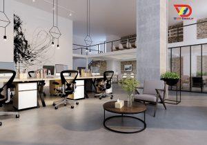 Nội thất văn phòng tại quận 6 - thiết kế văn phòng giá rẻ