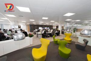 Nội thất văn phòng tại quận bình tân - Thiết kế văn phòng giá rẻ