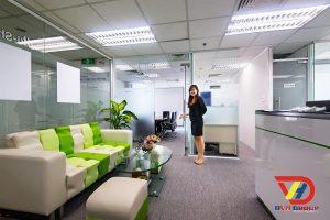 Nội thất văn phòng tại quận 9 - Thiết kế văn phòng giá rẻ