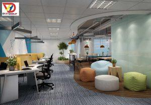 Thiết kế thi công nội thất văn phòng chuyên nghiệp - chất lượng