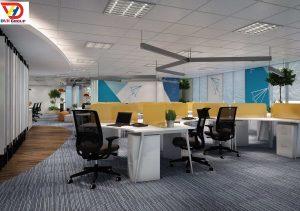 DVHGroup Thiết kế văn phòng chuyên nghiệp, thi công chất lượng số 1 tại TPHCM