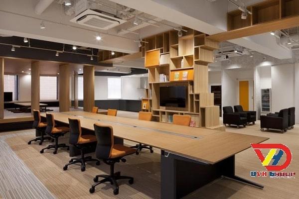Công Ty Thiết kế nội thất văn phòng tại quận 2 TP.HCM - Nội Thất DVHGroup