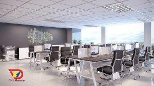 Thiết kế nội thất văn phòng tại quận 6