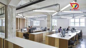 Thiết kế nội thất văn phòng tại quận 4