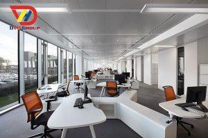 Nội thất văn phòng tại quận gò vấp - Thiết kế văn phòng giá rẻ