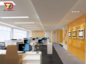 Thiết kế nội thất văn phòng nhân viên
