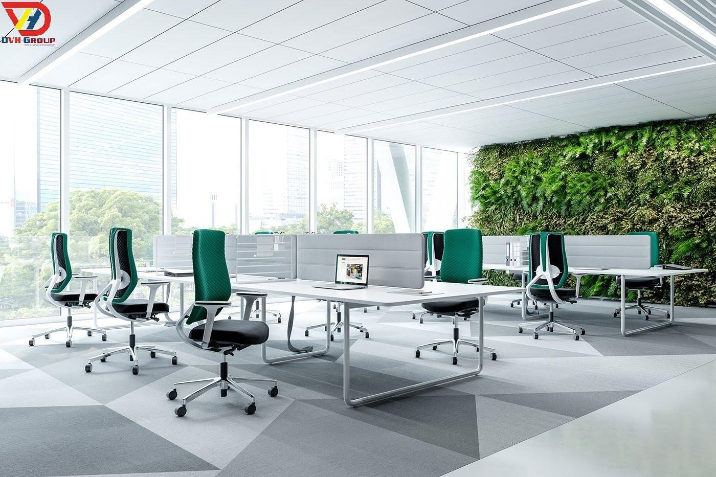 Công ty thiết kế nội thất văn phòng tại quận 7
