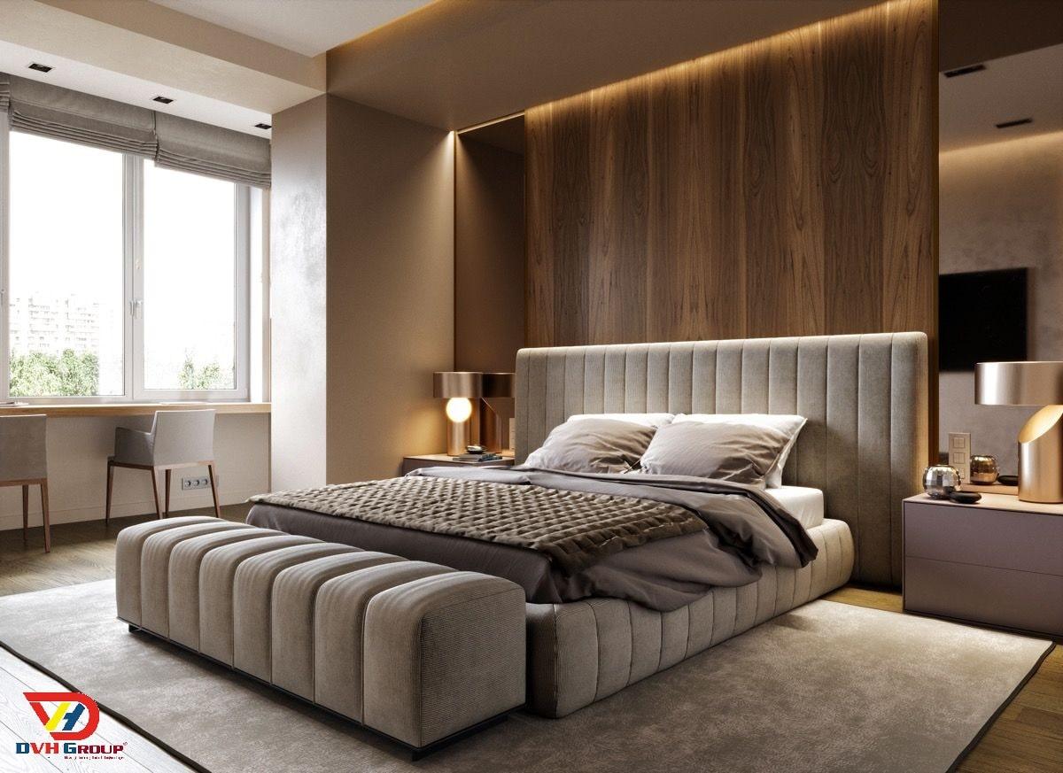 Không gian giúp chúng ta thư giản, relax sau một ngày làm việc: Phòng ngủ