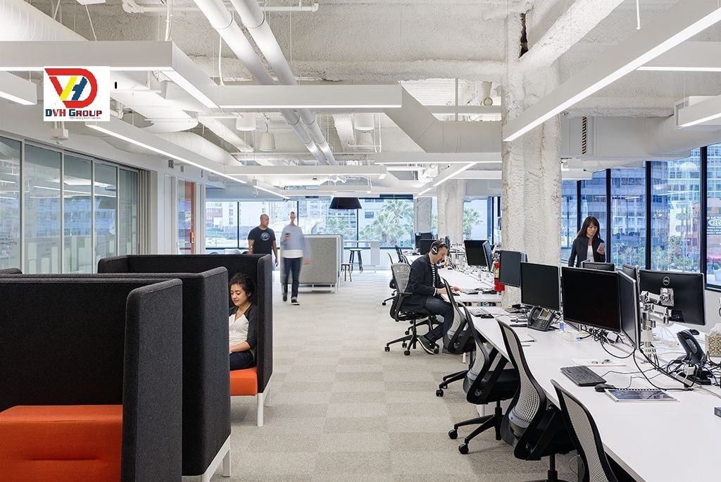 Công ty thiết kế nội thất văn phòng quận Bình Tân