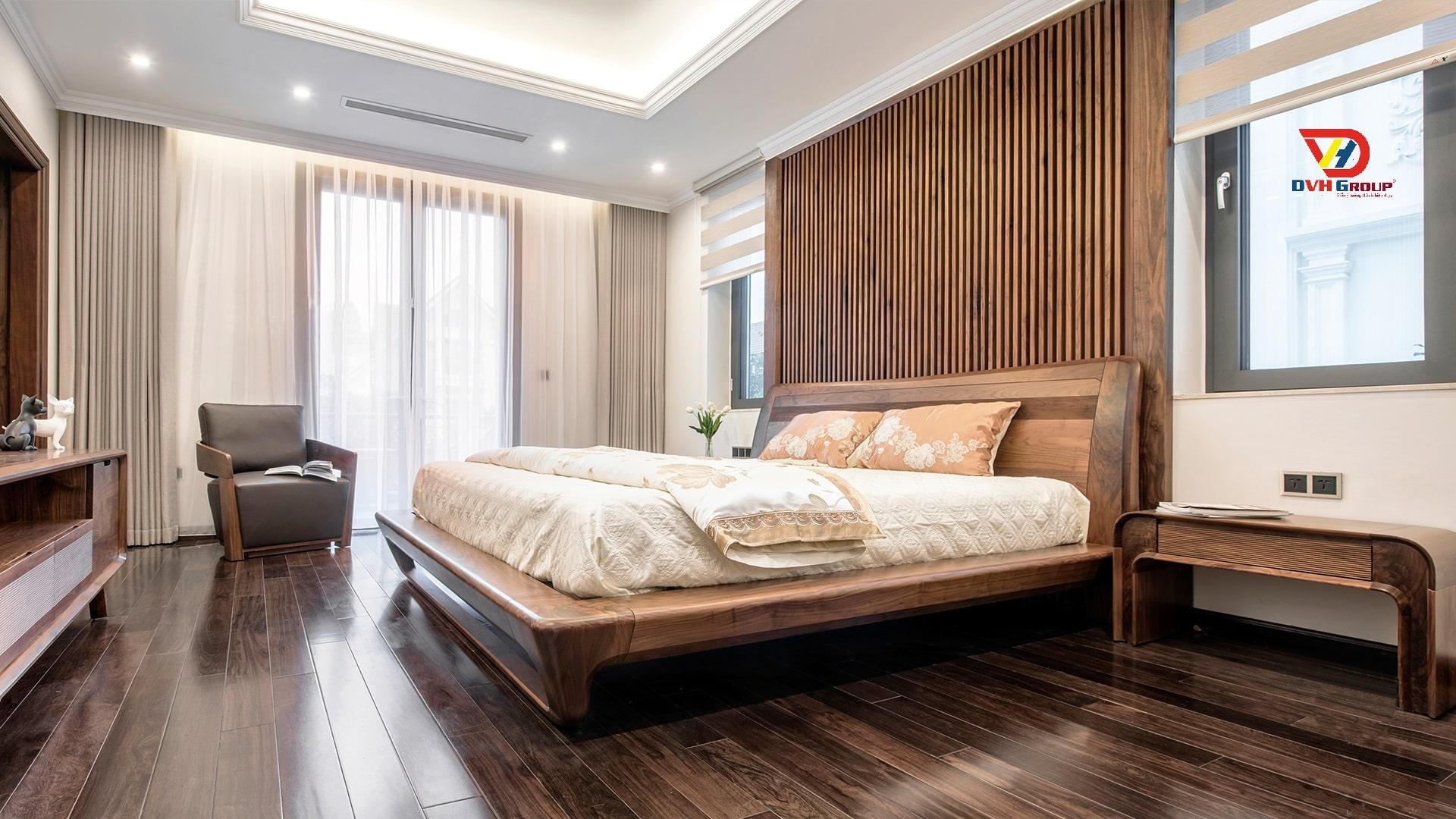 Nội thất phòng ngủ cho mẫu nhà ở đẹp