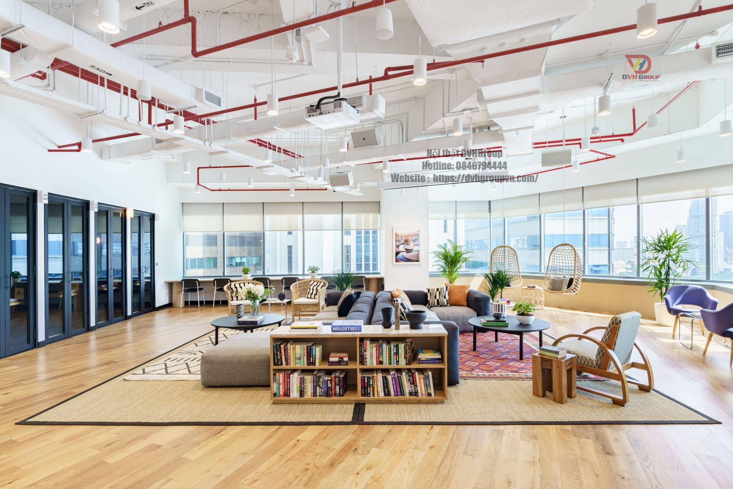 Công ty thiết kế nội thất văn phòng quận Bình Thạnh