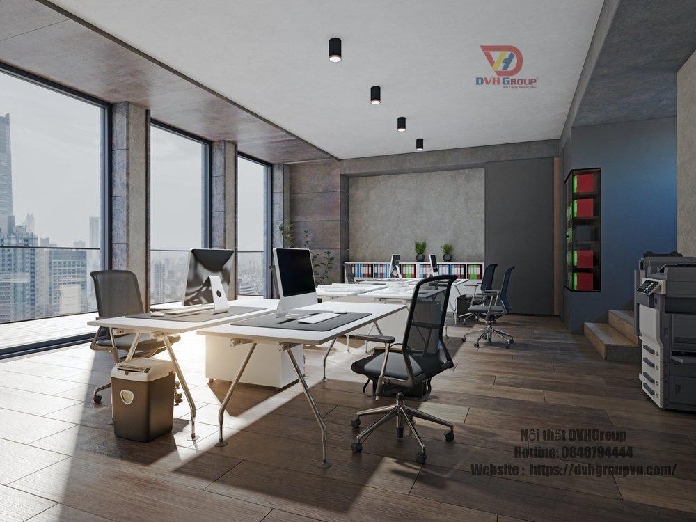 Các mẫu thiết kế nội thất văn phòng tại quận 8 phổ biến hiện nay