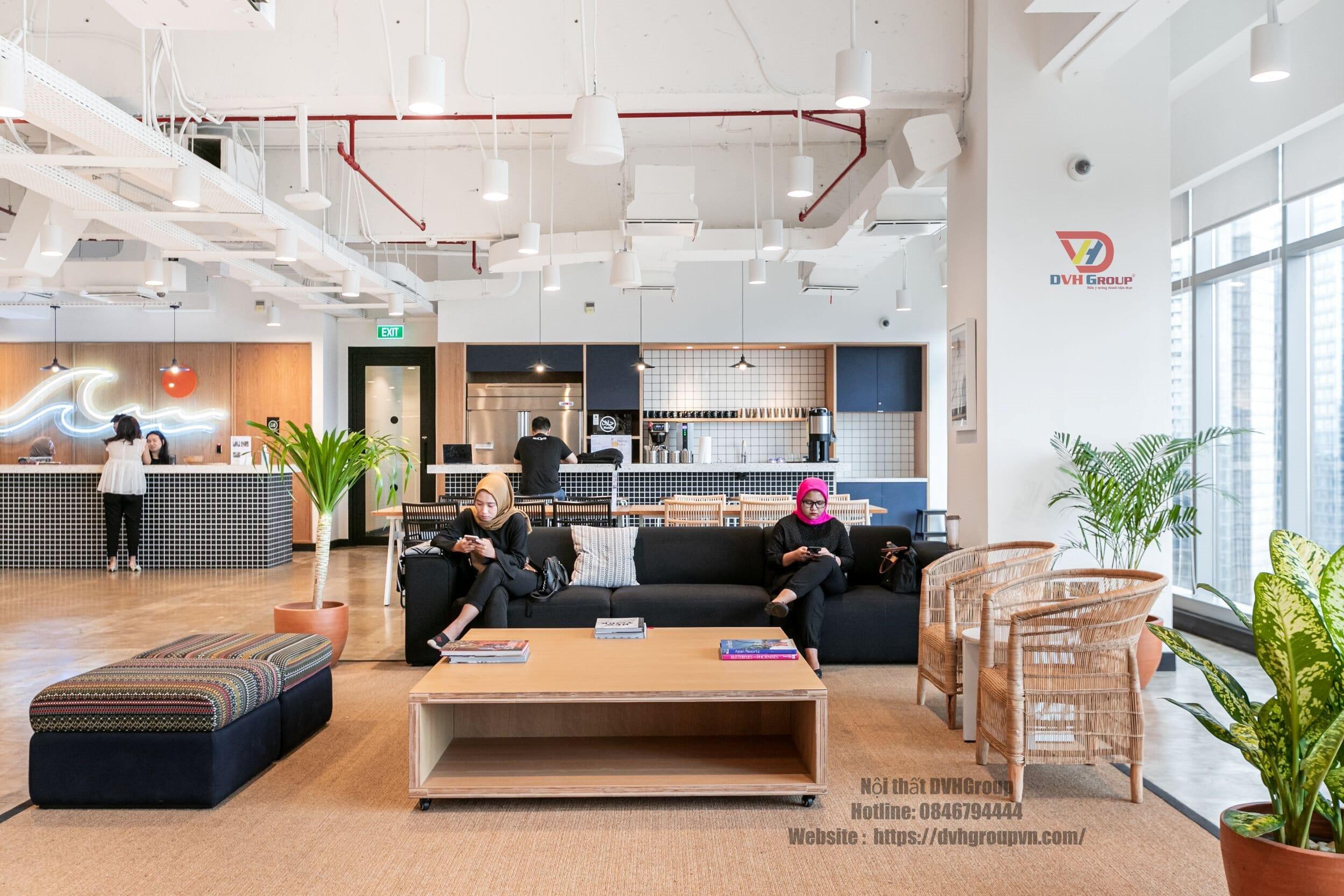 Thiết kế nội thất văn phòng phải phù hợp với văn hóa của công ty
