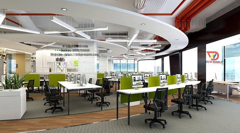 Công ty thiết kế nội thất văn phòng tại quận 11 - Nội Thất DVHGroup