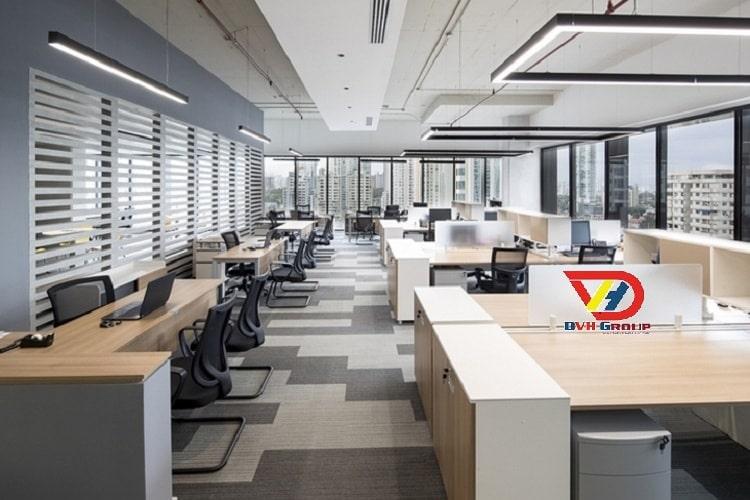 Công ty thiết kế nội thất văn phòng Quận 3