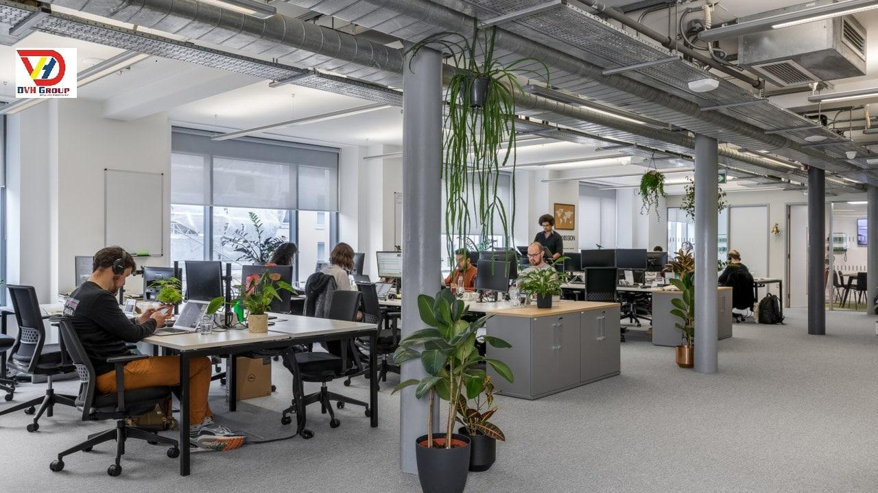 Công ty thiết kế nội thất văn phòng tại quận Phú Nhuận