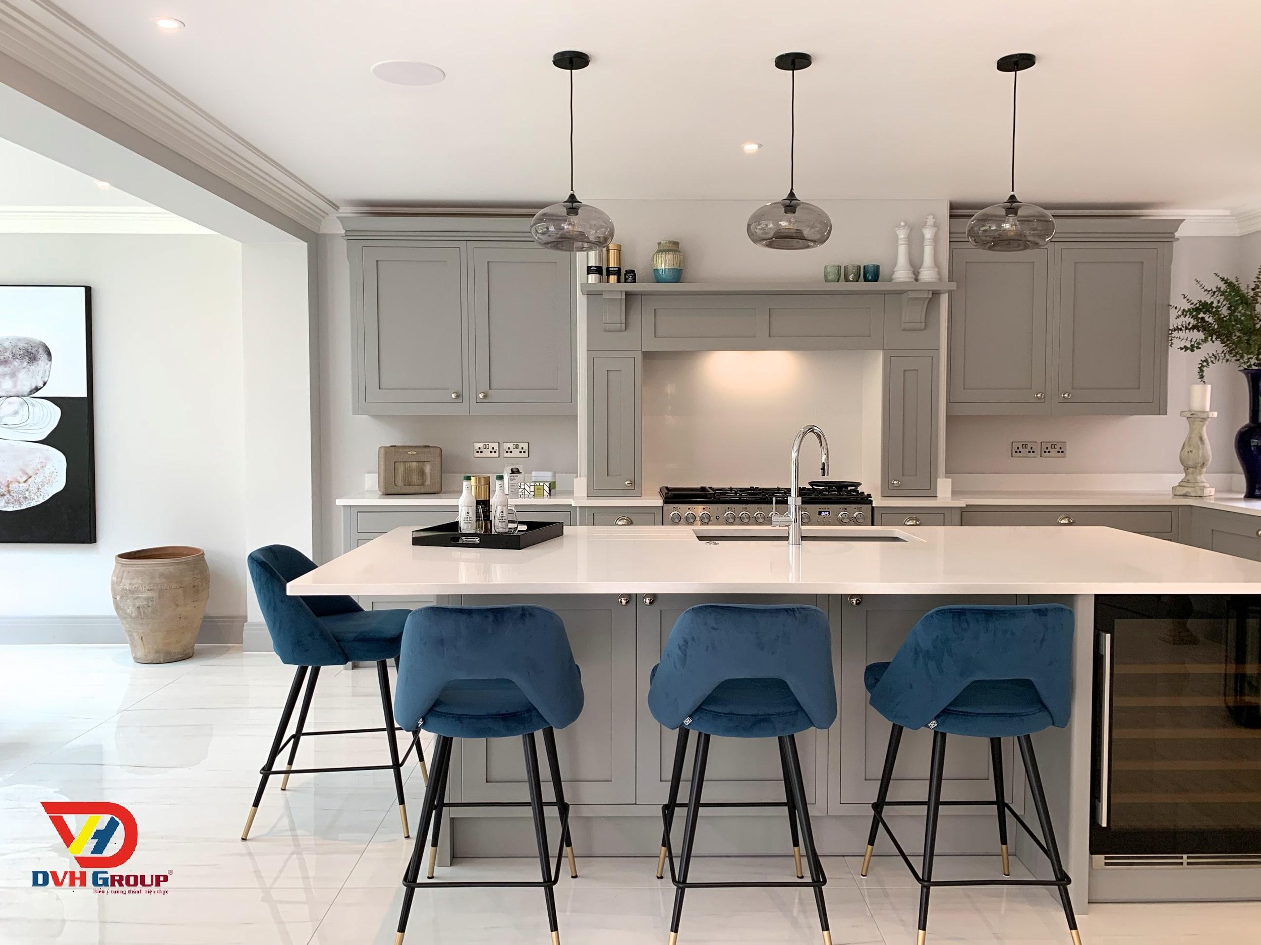 Thiết kế nội thất căn hộ chung cư tại Long Thành-Phòng bếp