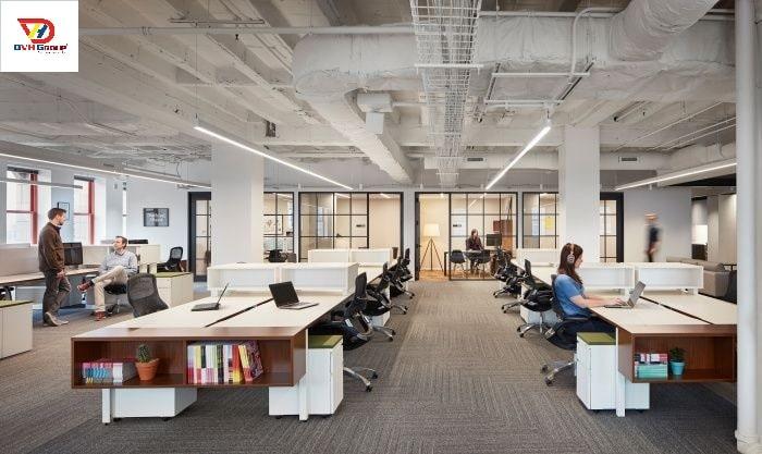 Công ty thiết kế nội thất văn phòng tại TP Vinh