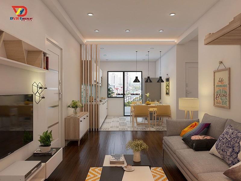 Lưu ý khi thiết kế nội thất căn hộ chung cư tại Đồng Nai