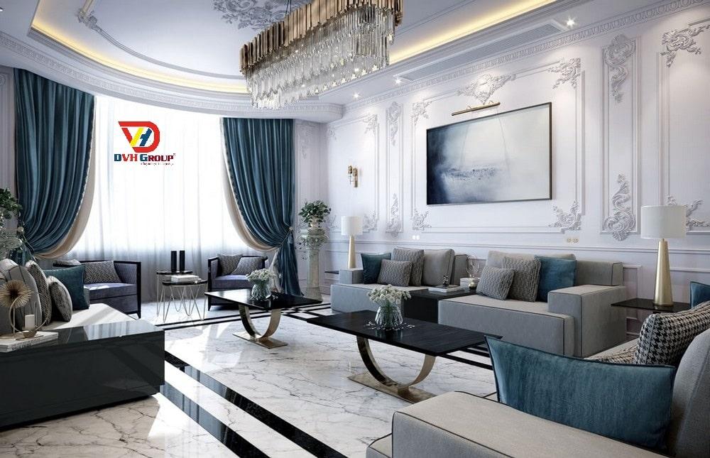Phong cách thiết kế nội thất cổ điển khi thiết kế nội thất căn hộ