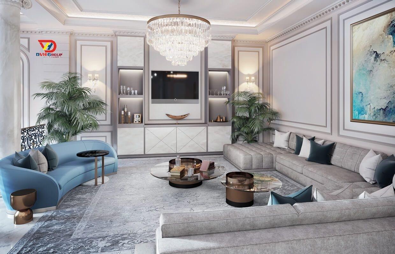 Thiết kế nội thất căn hộ chung cư tại quận 12