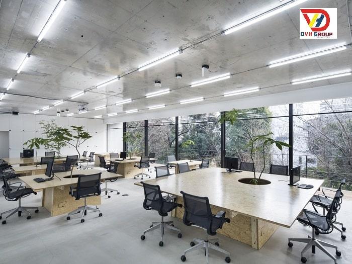 Công ty thiết kế nội thất văn phòng tại quận 12