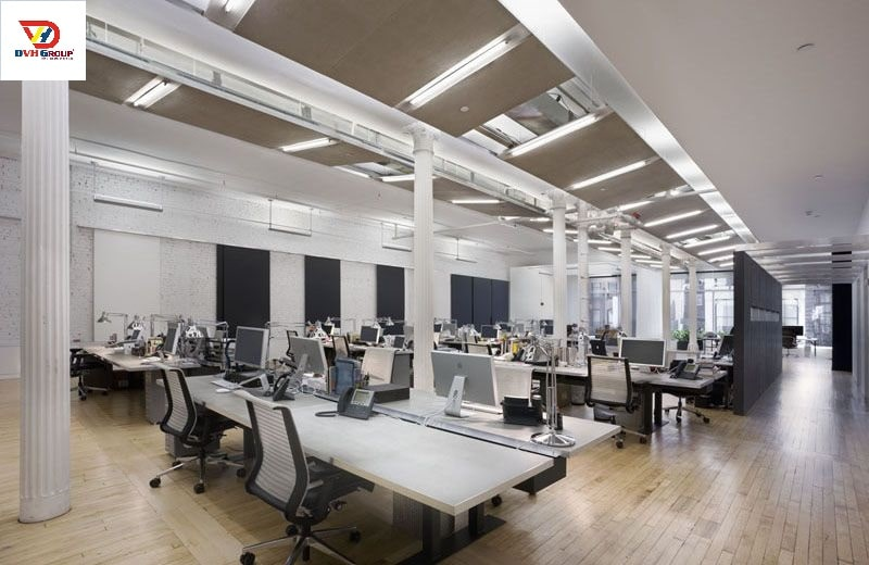 Công ty thiết kế nội thất văn phòng tại Long An