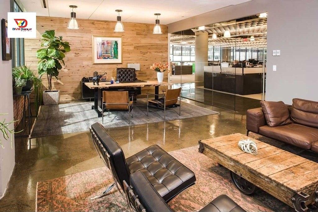 Công ty thiết kế nội thất văn phòng tại Bình Dương
