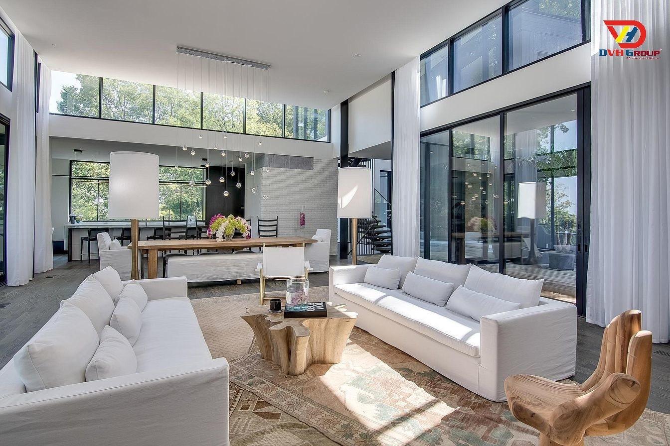 Thiết kế nội thất căn hộ chung cư tại quận 4