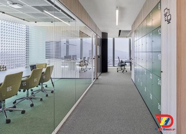 Thiết kế nội thất văn phòng tại quận 7