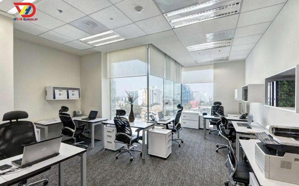 Thiết kế không gian phòng nhân viên