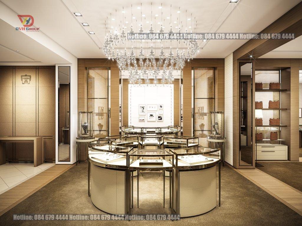 7 tiêu chí giúp bạn thiết kế nội thất showroom cửa hàng