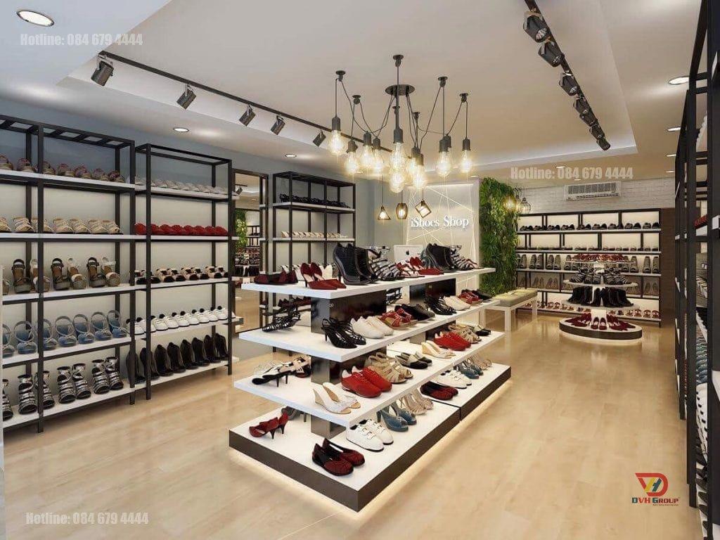 Thiết kế nội thất showroom cửa hàng tại quận 2