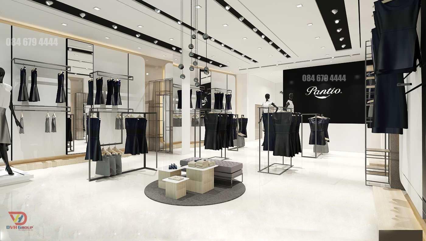 Thiết kế nội thất showroom theo phong cách Boutique