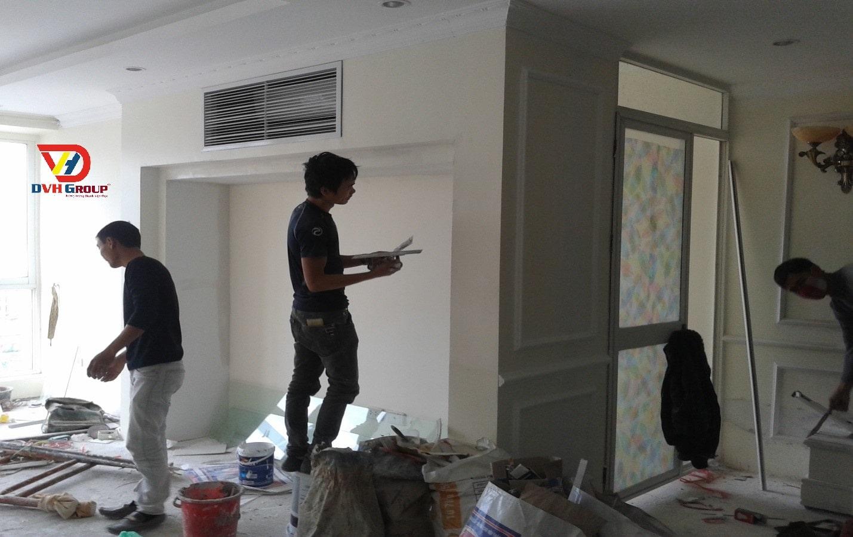 Thiết kế nội thất căn hộ chung cư tại Long Thành - Quy trình sơn nhà chuyên nghiệp