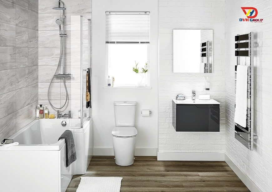 Thiết kế nội thất căn hộ chung cư - Phòng vệ sinh