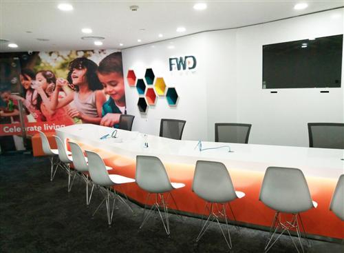 Thi công nội thất văn phòng FWD