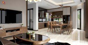 Thiết kế nội thất căn hộ chung cư Dĩ An