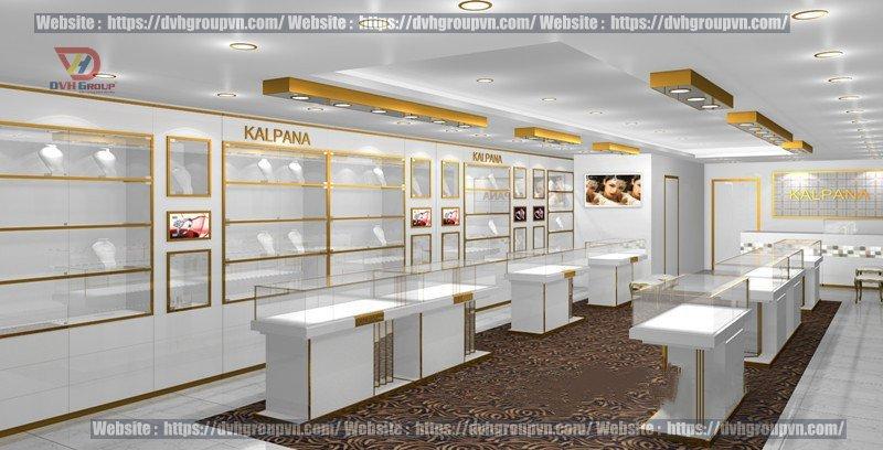 Thiết kế nội thất showroom cửa hàng tại quận 7