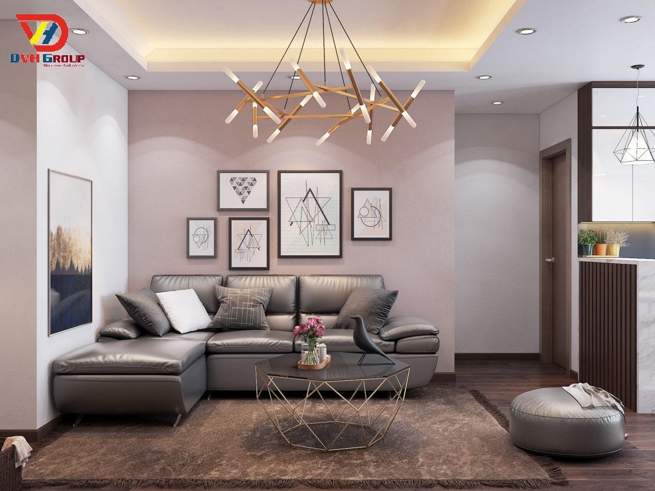 Thiết kế nội thất căn hộ chung cư tại Nhơn Trạch